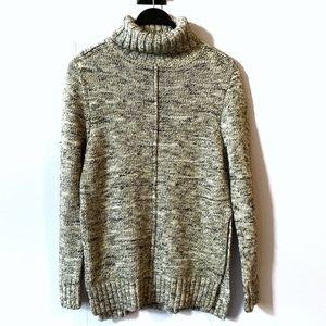 John + Jenn Mock Neck Turtleneck Sweater